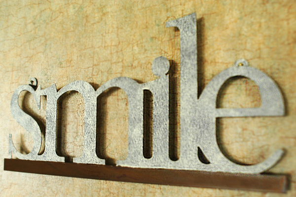 "Smile Northfield.  The ""smile\"" sign greets you at Professional Drive Dental in Northfield, Minnesota."